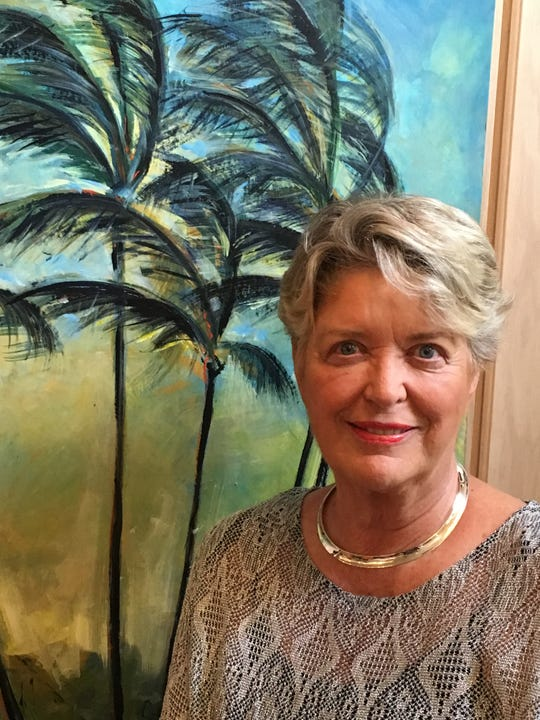 Anne Whitney was an art instructor at St. Edward's School for many years before retiring in 2014.