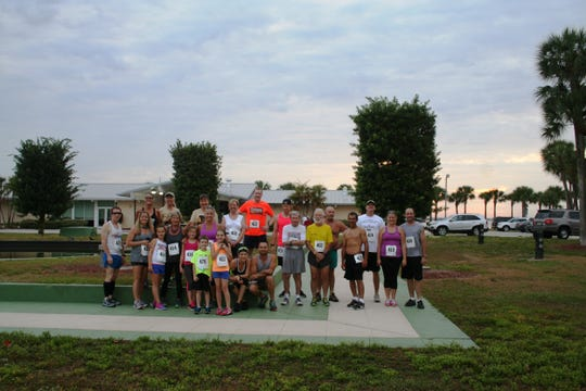 Windsor Community Angels hosted a 5K race.  Shown are some of the runners who participated in this fundraiser.