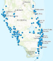 There are about 220 deep injection wells in South Florida, most dispose of wastewater effluent and drinking water plant byproducts.