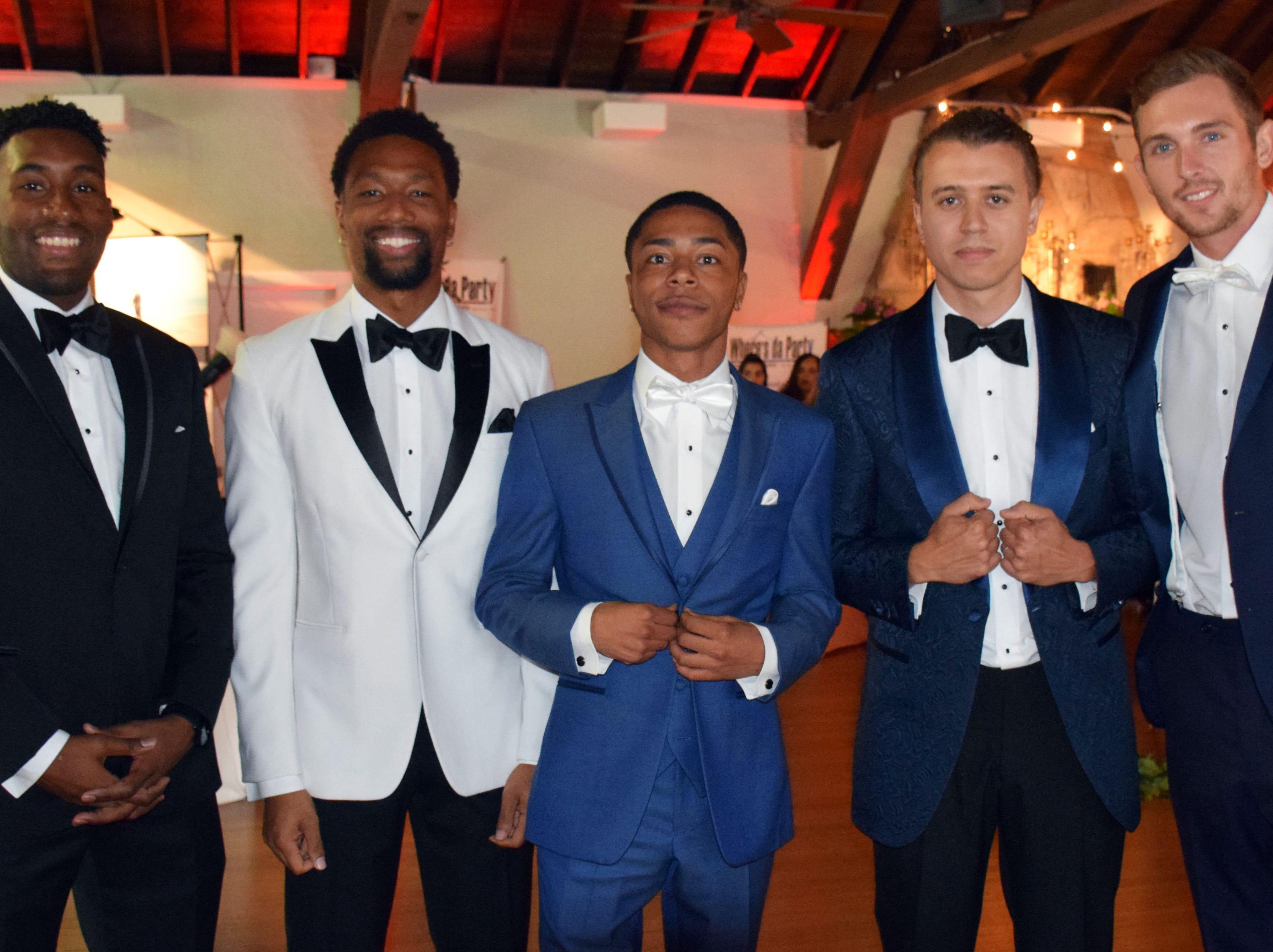 Wesley Juerakhan, Breno Nassimbeni, Earl Geter, Jahvar Jordan And Landon Chapman