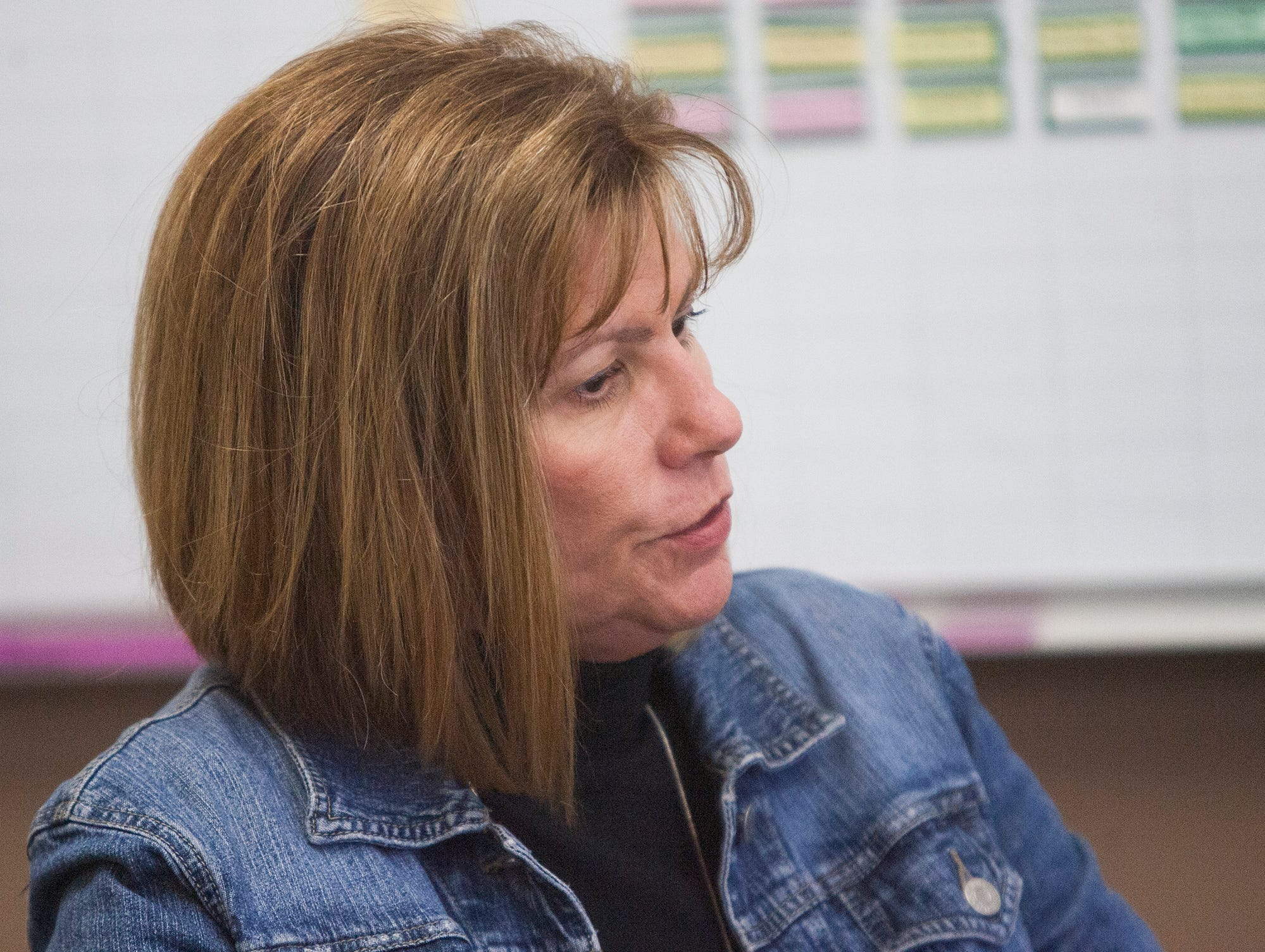 Lori Wrout, an English teacher at Rio Mesa High School, is the coordinator for the school's International Baccalaureate program.