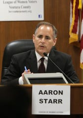 Former mayoral candidate Aaron Starr will discuss five proposed ballot initiatives on Friday.