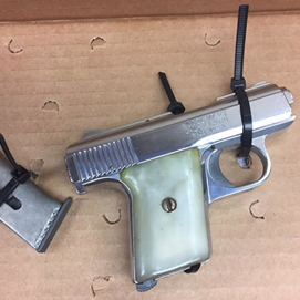 Oxnard police arrest driver over loaded handgun