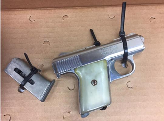 Loaded handgun seized by Oxnard police.