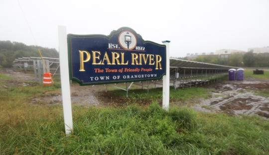 New York State Department of Transportation installed a solar array at the intersection of State Route 304 and N. Middletown Rd. in Pearl River.