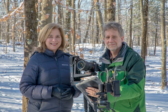 Croton filmmakers Susan Todd and Andrew Young made a movie in their Croton-on-Hudson backyard.