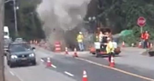 Sloatsburg sewer explosion