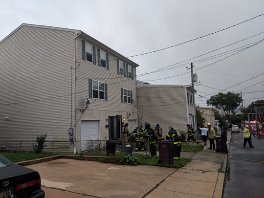 A Wilmington man on Tuesday safely escaped his house with his two dogs after he heard the smoke detector go off.