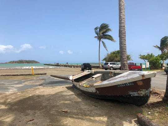 The fishermen of Punta Santiago once had 15 boats in their fleet. Today, after Hurricane Maria ravaged their seaside community, they have just two.
