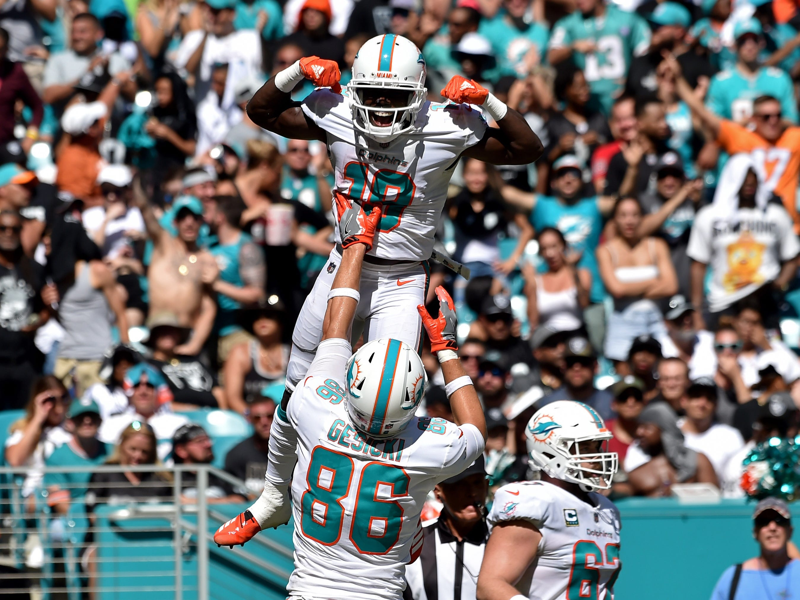 9. Dolphins (18): Thanks to weak schedule, on pace to finish 19-0 and forever erase mythic '72 Dolphins from record book as NFL's most impressive perfect team.
