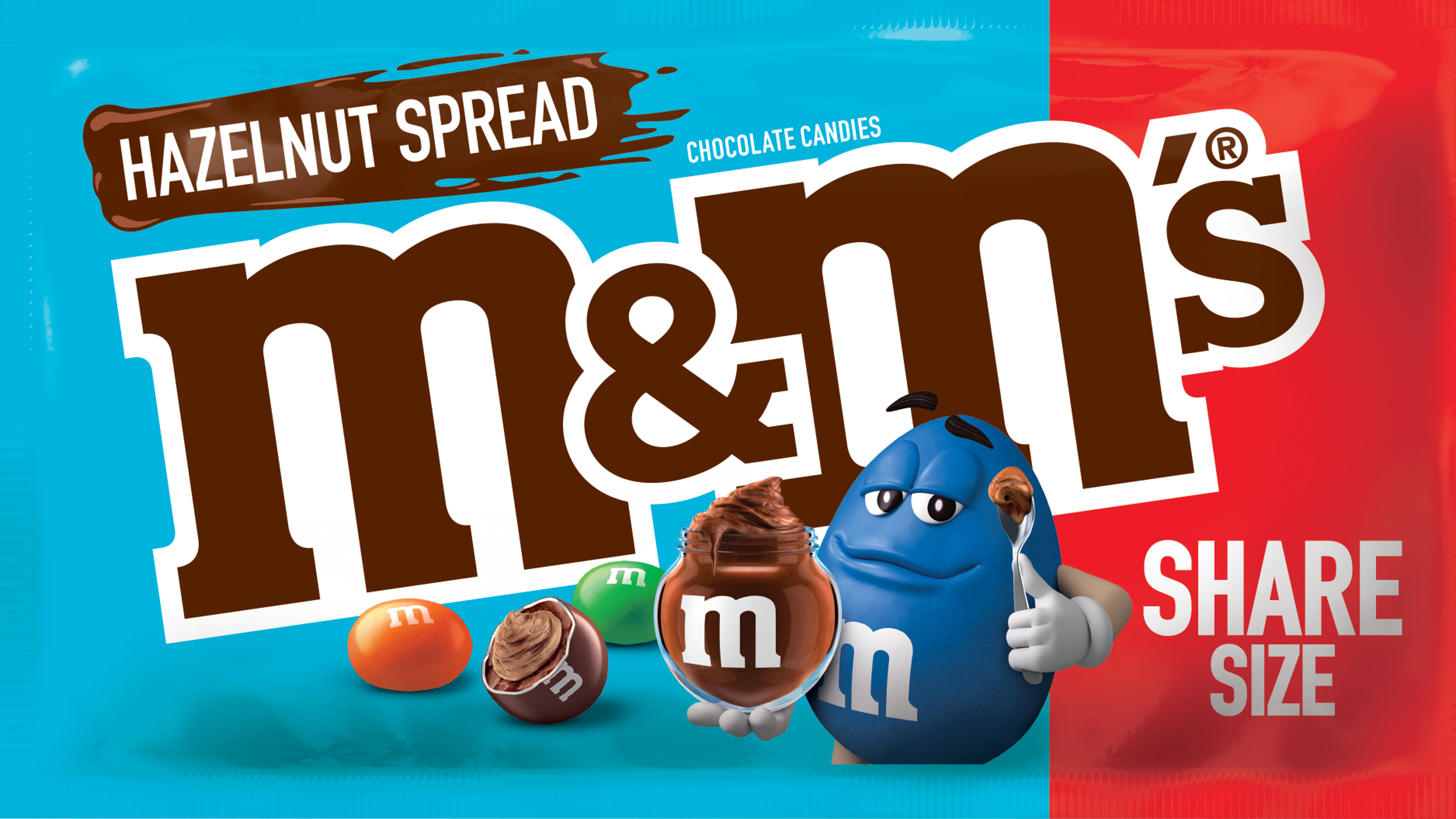 New hazelnut spread M&M's are coming in April along with new Reese's cups