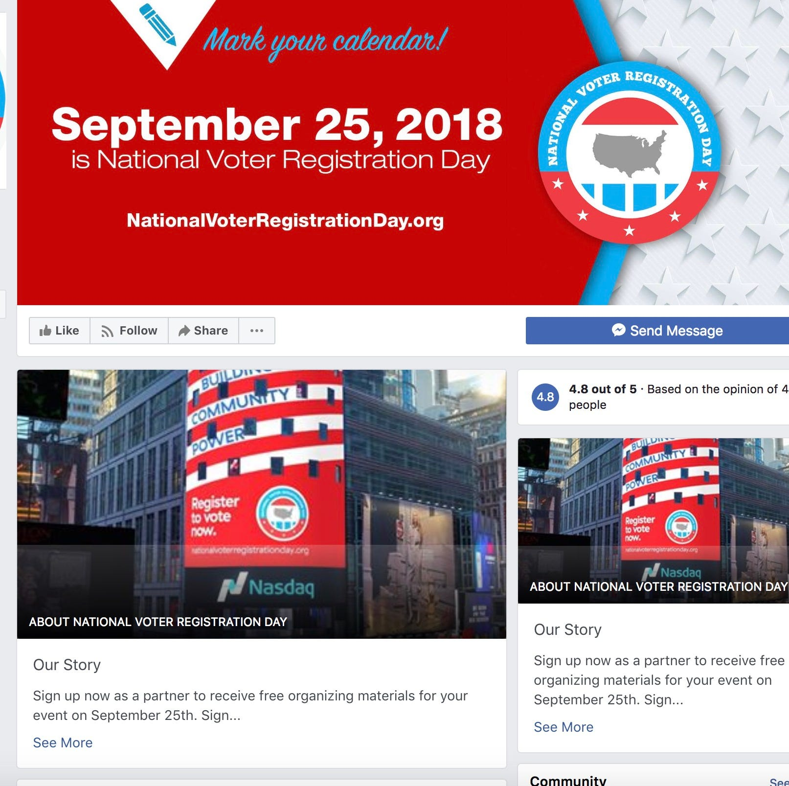 Tech, social media companies encourage voter turnout as November approaches