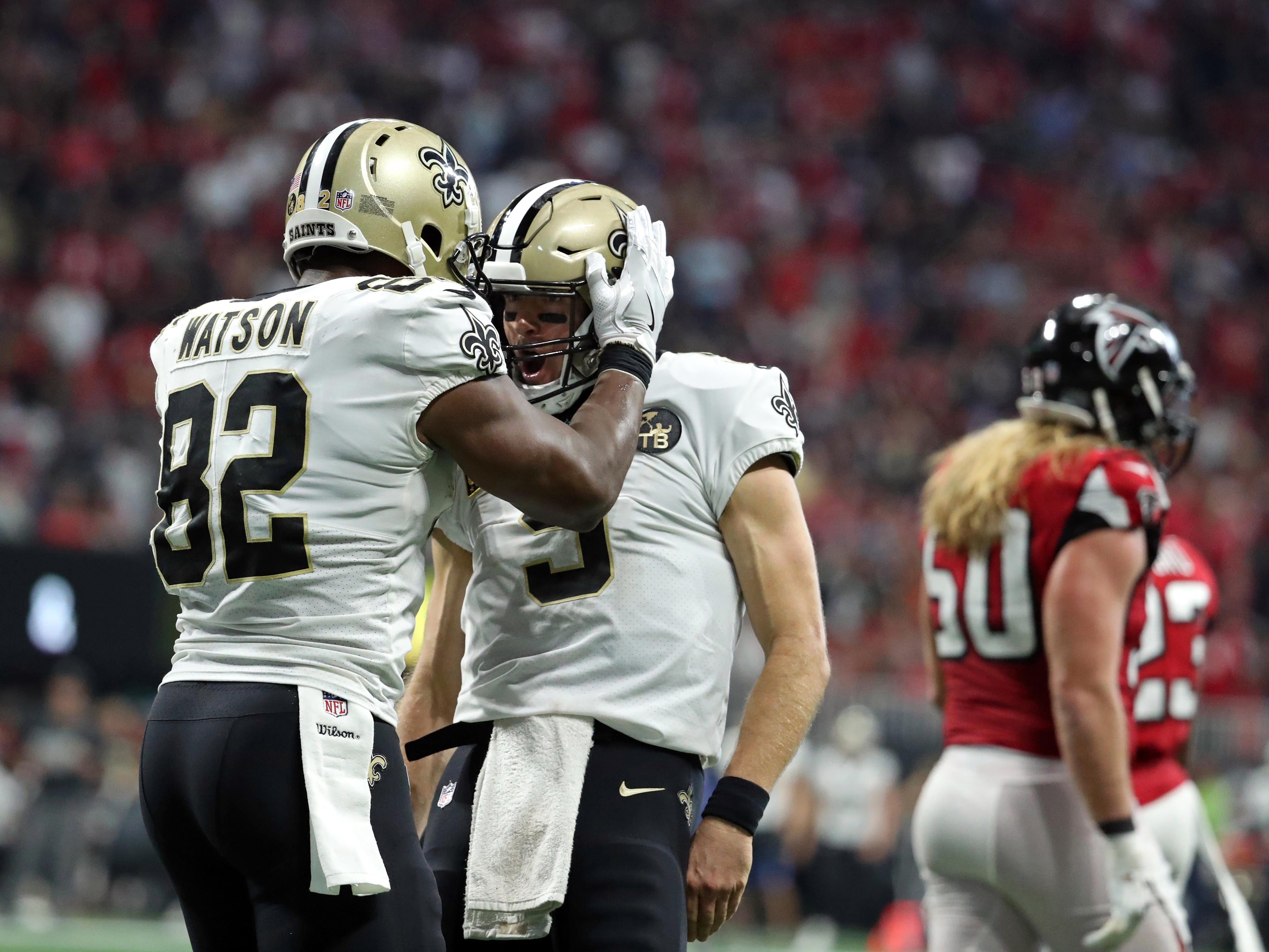 4. Saints (12): Drew Brees on pace for 5,749 pass yards, 80.6% completion rate. Michael Thomas on pace for 203 catches. Sick numbers even by N.O. standards.