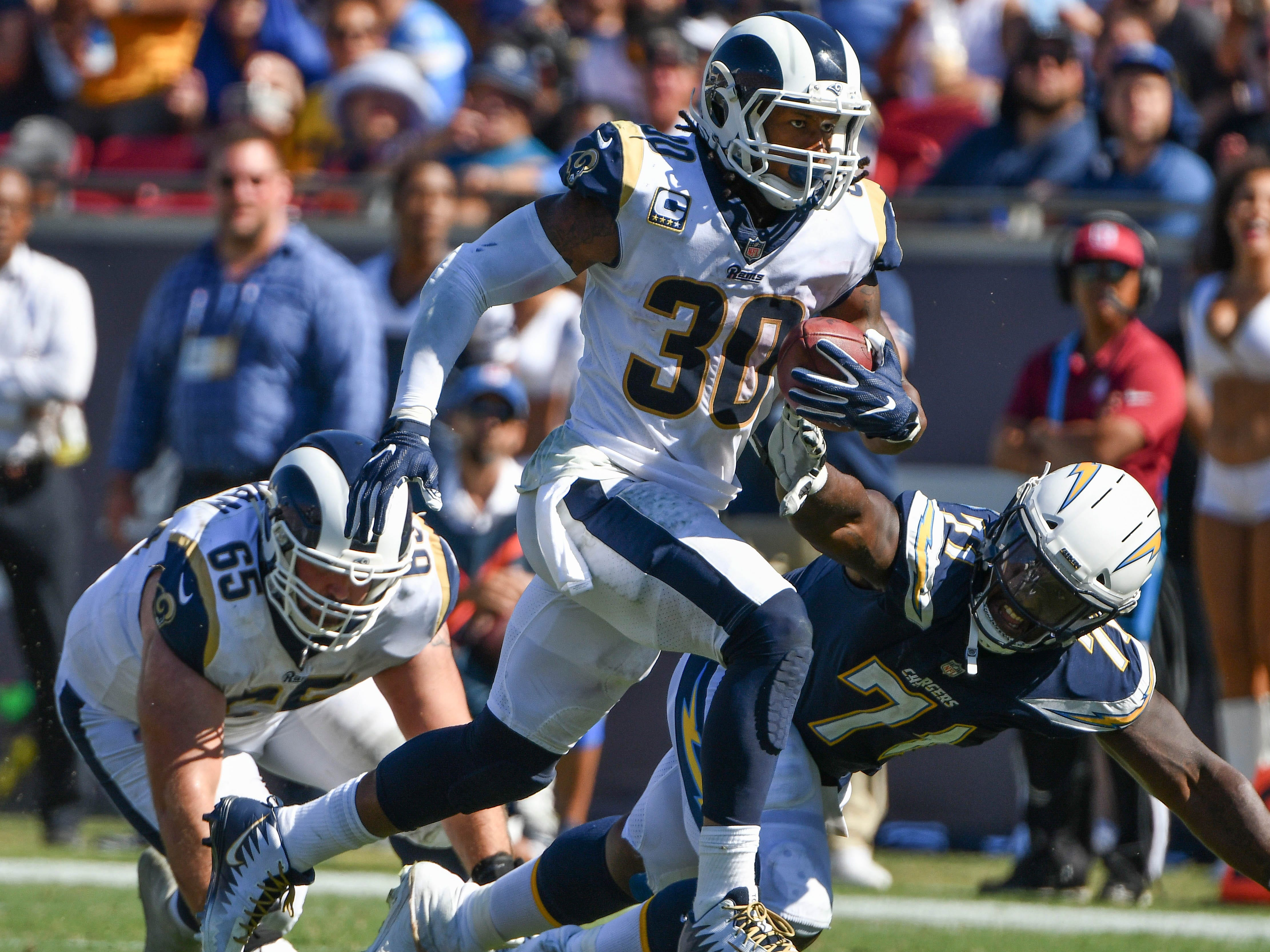 1. Rams (2): They're on pace to outscore opponents by 352 points (22 per game), though that could change with Peters and Talib on pace to miss a few games.