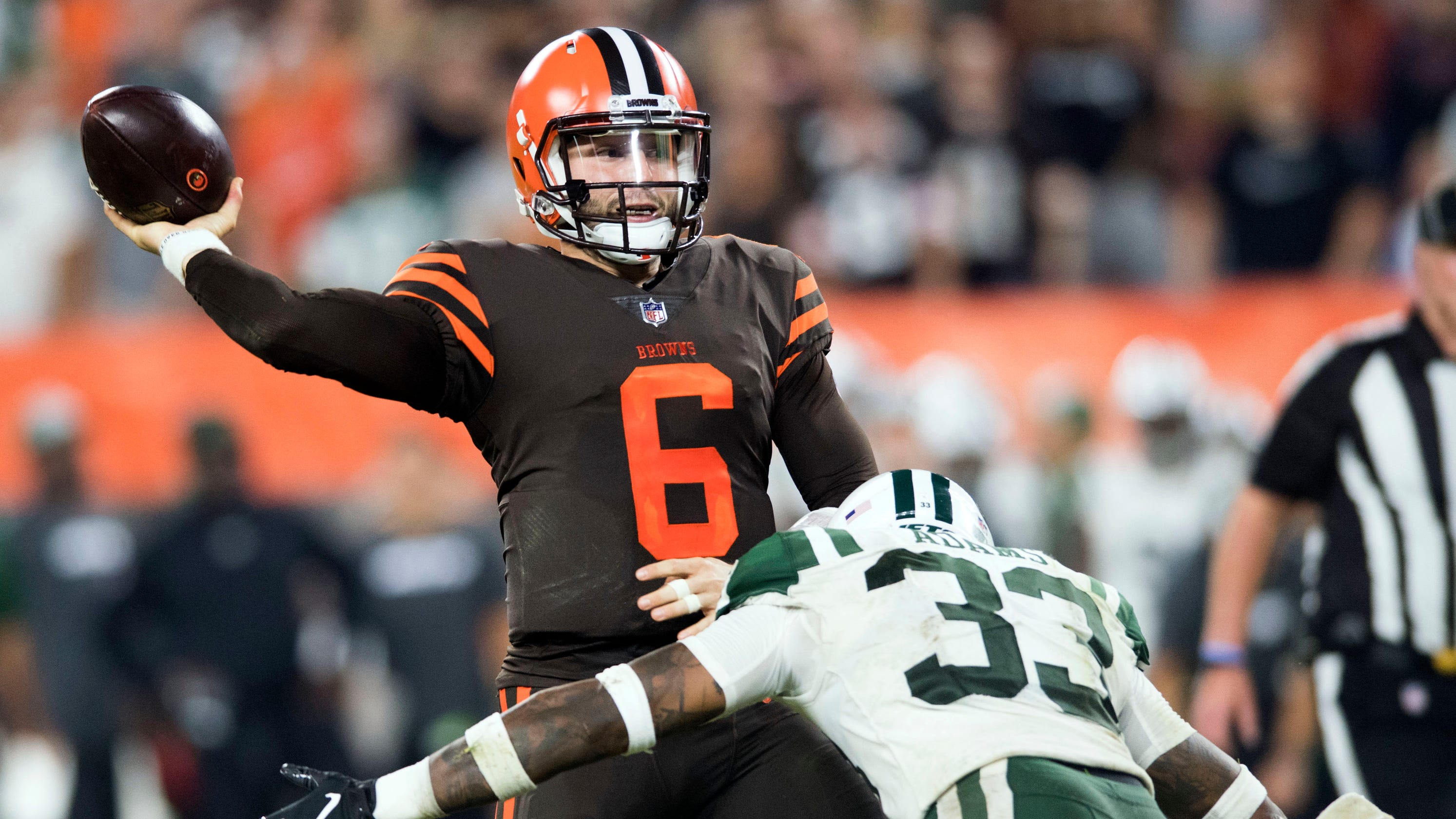 60e70df78 Fantasy football waiver wire  It s Baker Mayfield s time to shine