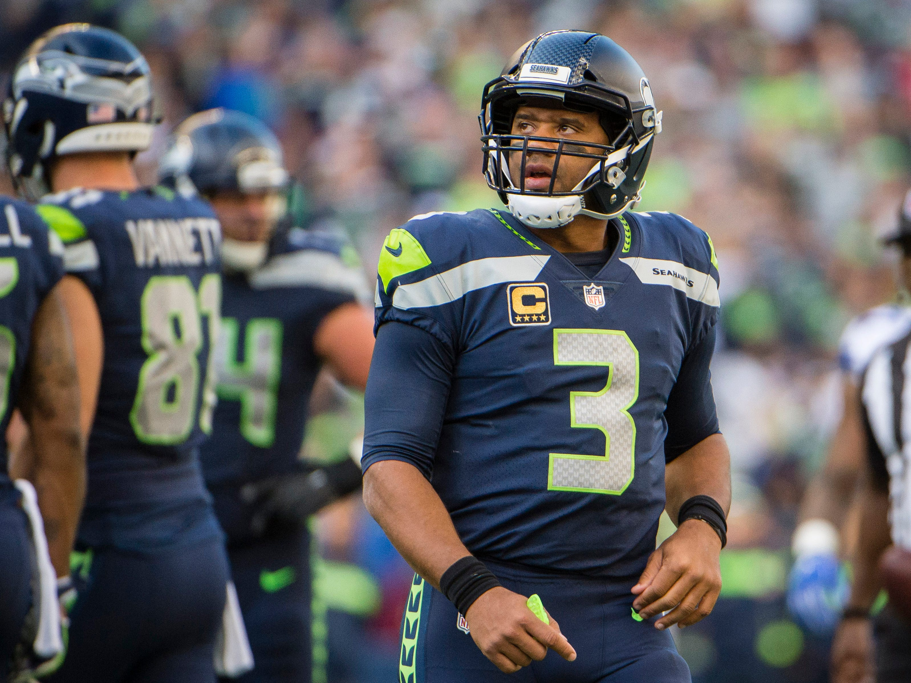 25. Seahawks (29): Russell Wilson is on pace to absorb 75 sacks, which would be one shy of David Carr's unfortunate record-setting season in 2002.