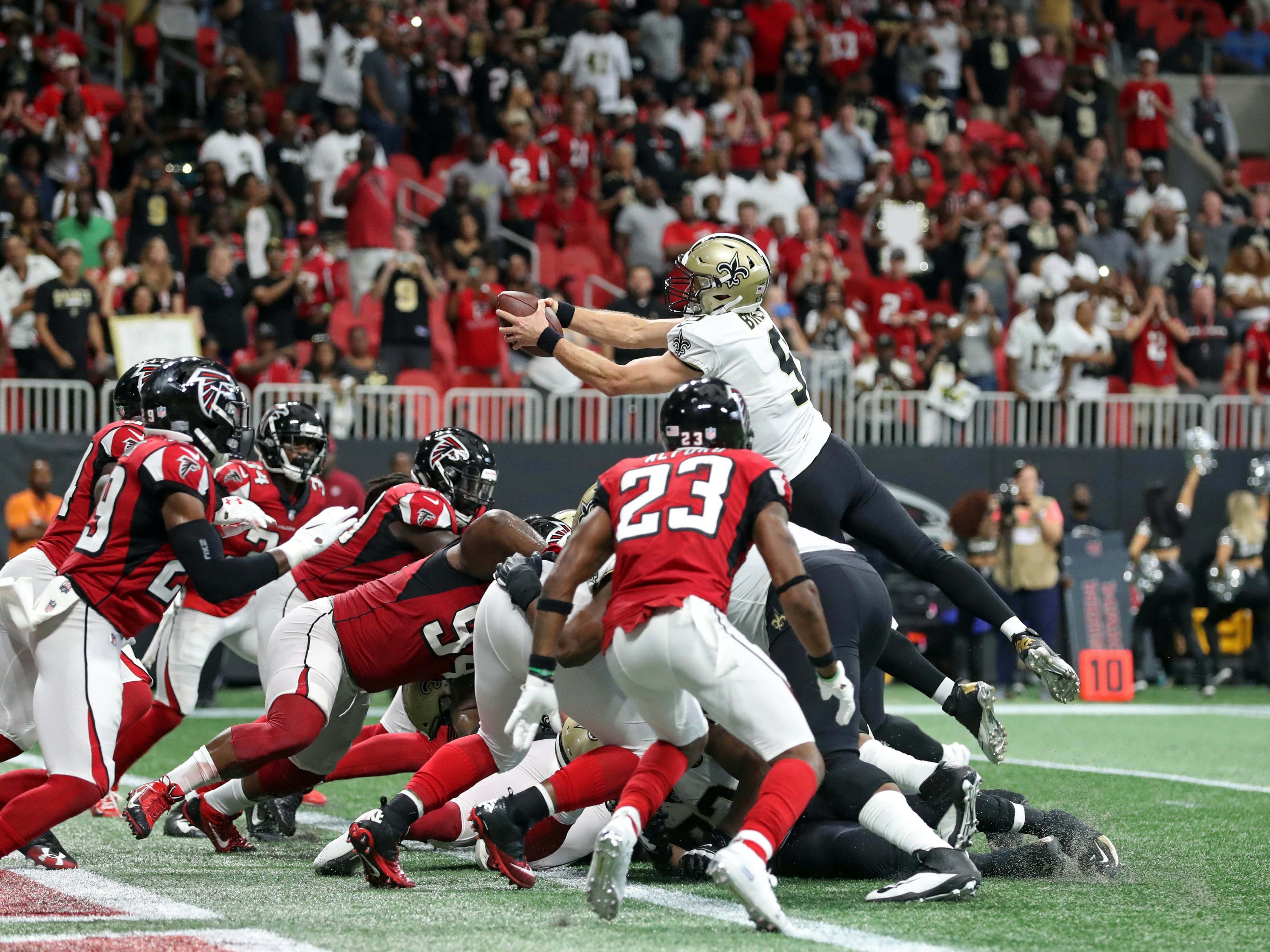 6. Falcons (9): Atlanta on pace to come up one play short against every quality opponent ... pretty much the story of the Dan Quinn-Matt Ryan tenure.