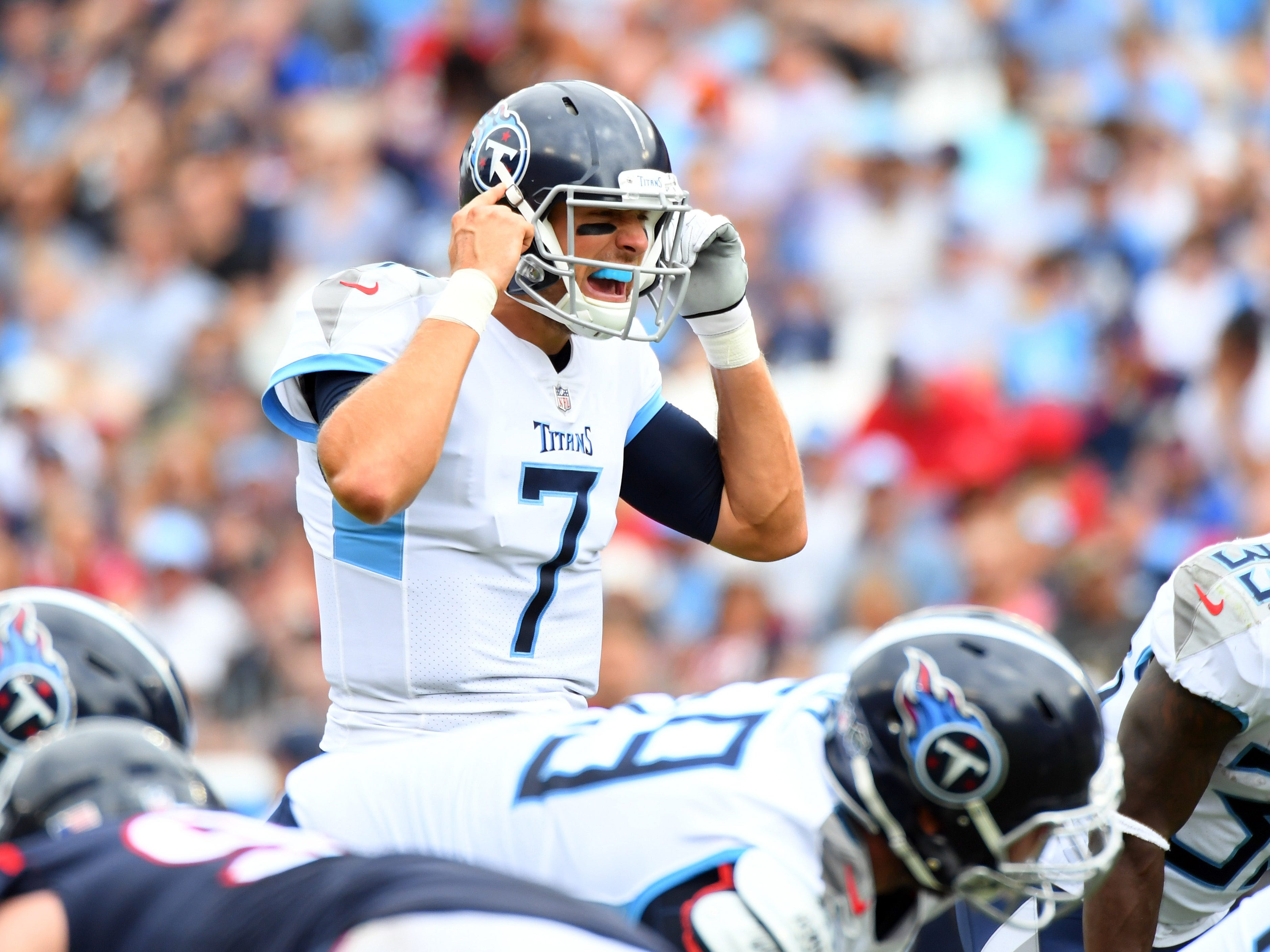 20. Titans (19): Don't look now — especially you, @BortlesFacts — but Blaine Gabbert on pace to go 15-0 as starter using Mike Vrabel's smoke and mirrors.