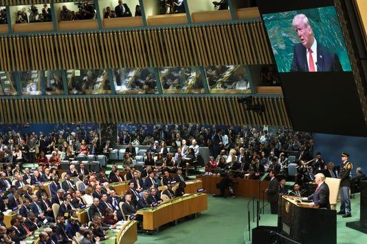 Ap Trump United Nations I Xun