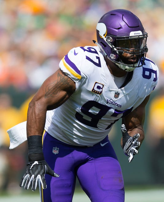 buy online 86949 6a8ee Everson Griffen: Vikings concerned about well-being of Pro ...