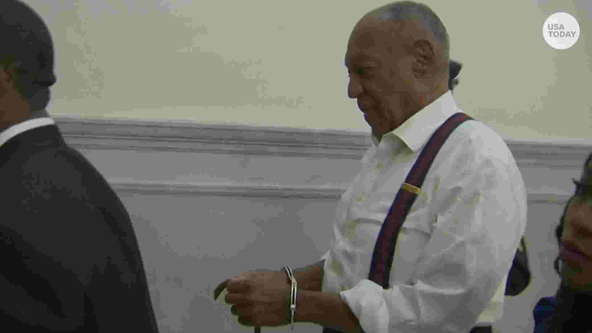 bill cosby sentenced to 3 to 10 years ordered taken into custody
