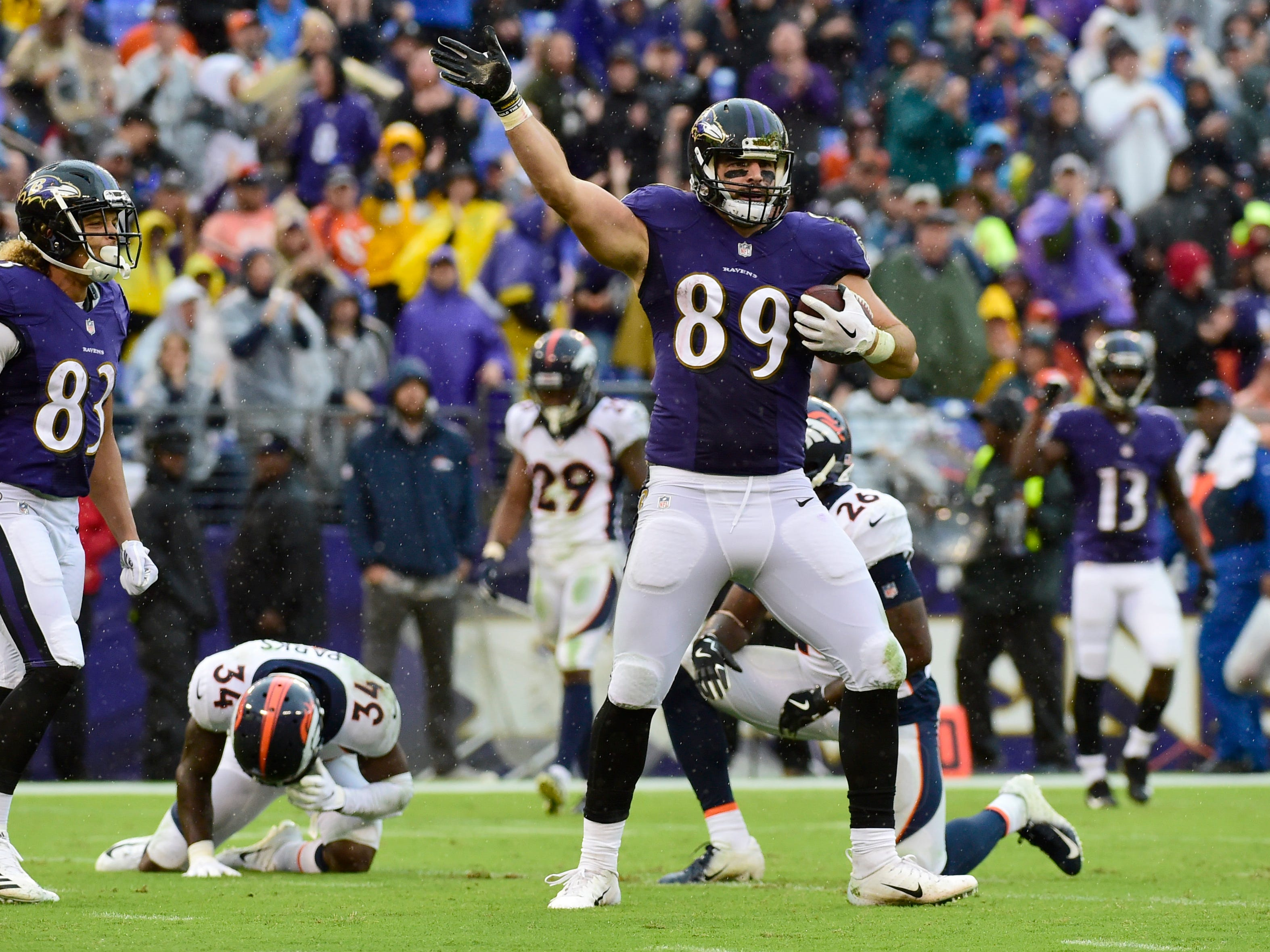 12. Ravens (17): Maybe craziest number of all, but they're on pace to go 64-for-64 in terms of scoring TDs when entering red zone this season.