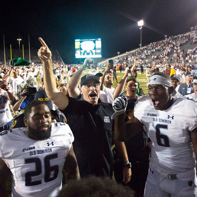 Conference USA Week 5 power rankings: Old Dominion gets the league's signature win