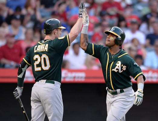 Mlb Oakland Athletics At Los Angeles Angels