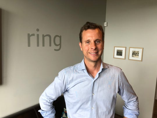 Jamie Siminoff, the founder of Ring, at an Amazon event in Seattle