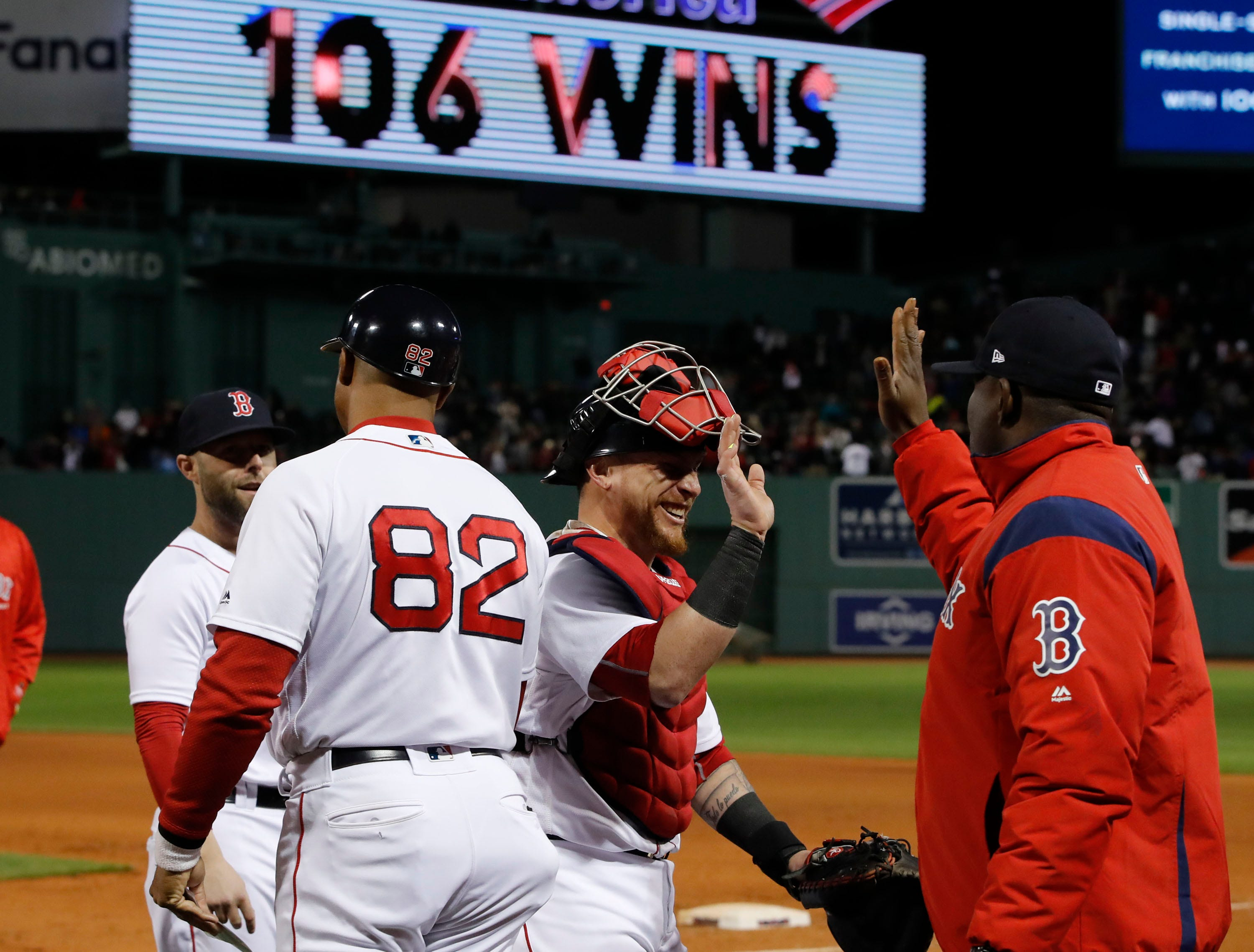 boston red sox 2018 team is winningest in franchise history