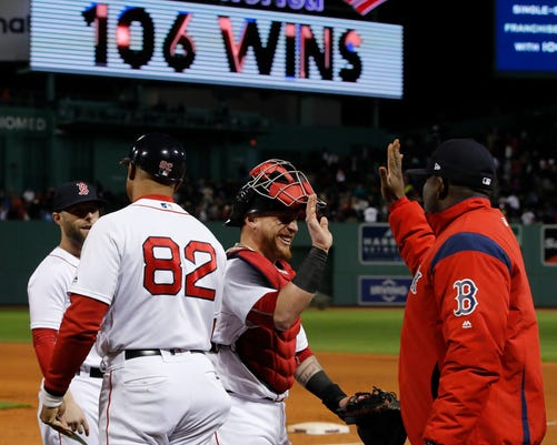 a6ac68855 Boston Red Sox  2018 team is winningest in franchise history