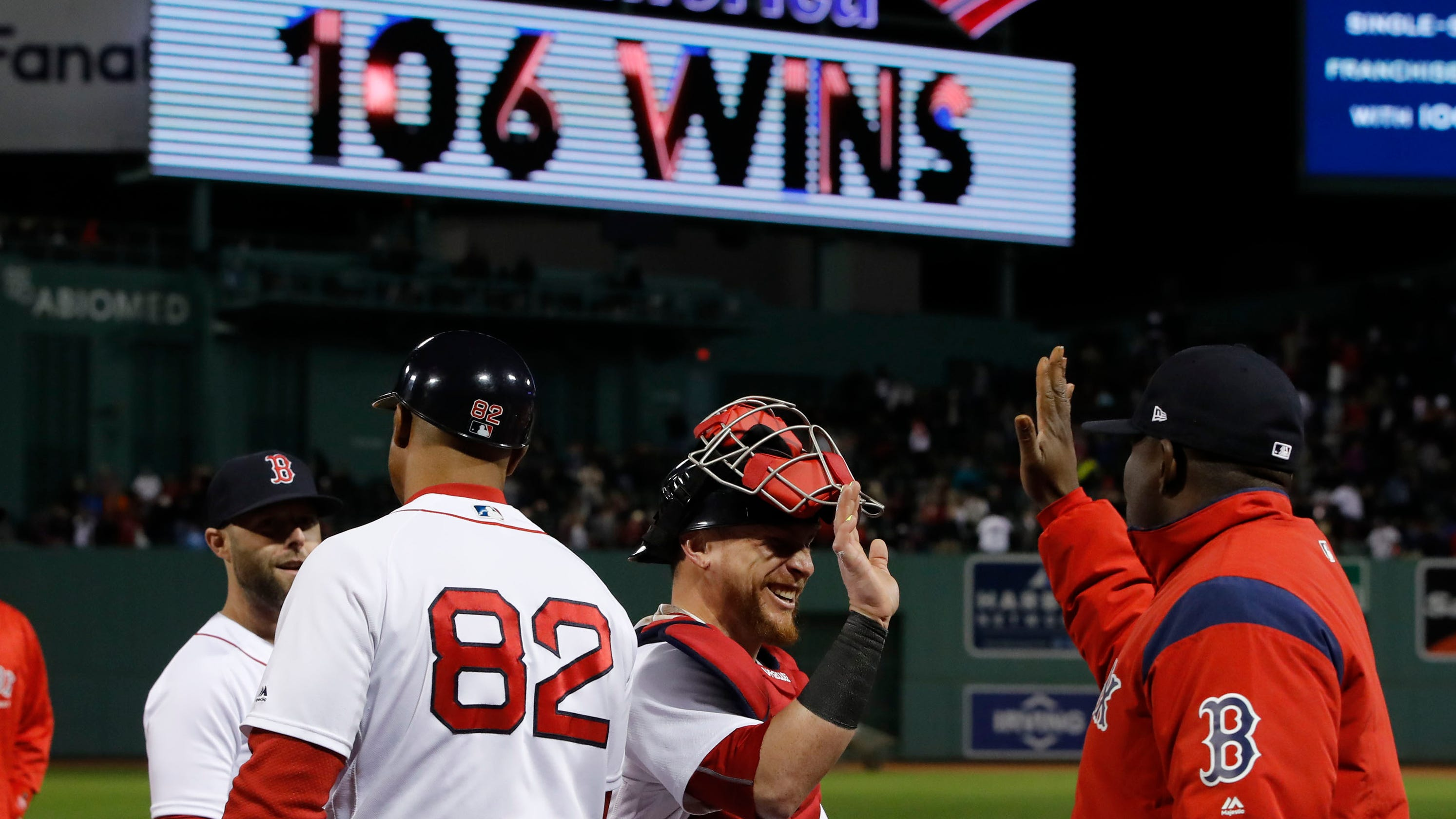 low priced b92f0 41c11 Boston Red Sox  2018 team is winningest in franchise history