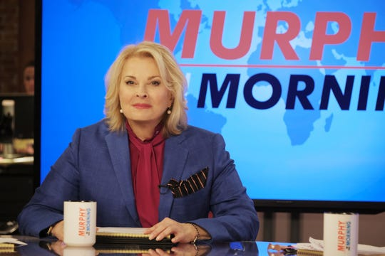 """After 20 years, Candice Bergen has returned to the air as """"Murphy Brown."""""""