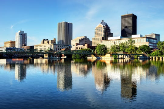 Rochester offers a revitalized downtown and major employers in health systems and higher education.