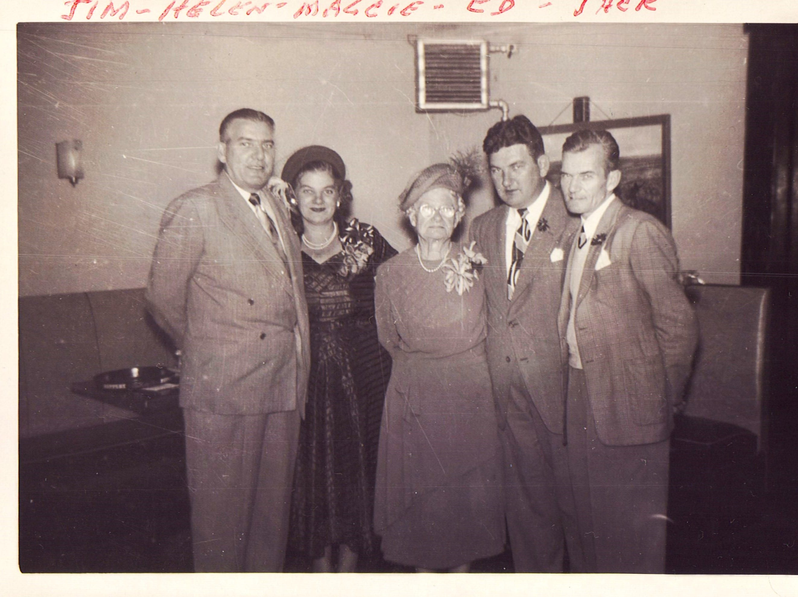 A family photo from Joyce Keating Steinert.