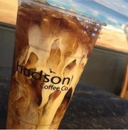 Pumpkin caramel cream cold brew at Hudson Cafe in Atlantic Highlands.