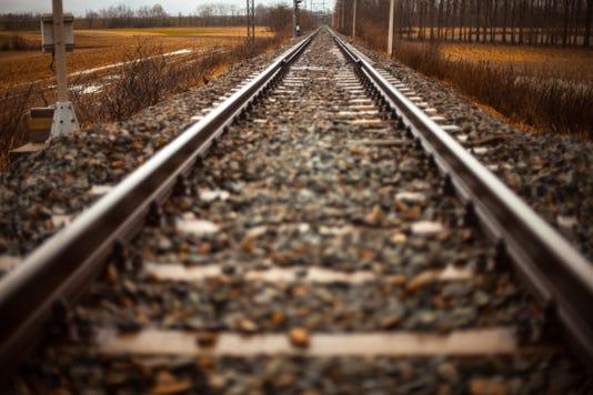 Path Railroad Rails 1425