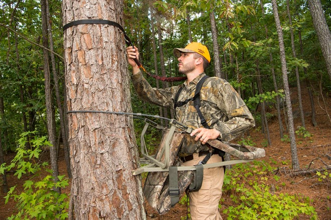 The N.C. Wildlife Resources Commission urges hunters to practice tree stand safety this hunting season.