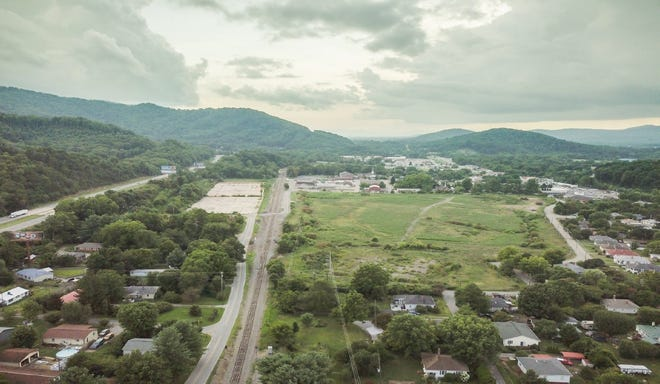 The proposed site of a $26 million indoor sports complex in Swannanoa.