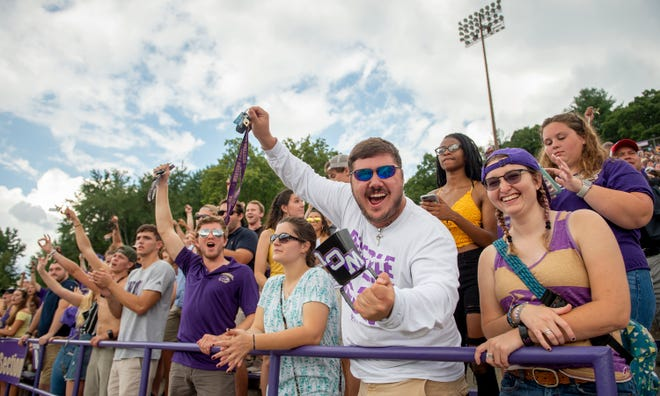 Nearly 13,000 fans — 12,759 to be exact —  were in Cullowhee to enjoy the victory over the VMI Keydets on Sept. 22, 2018.