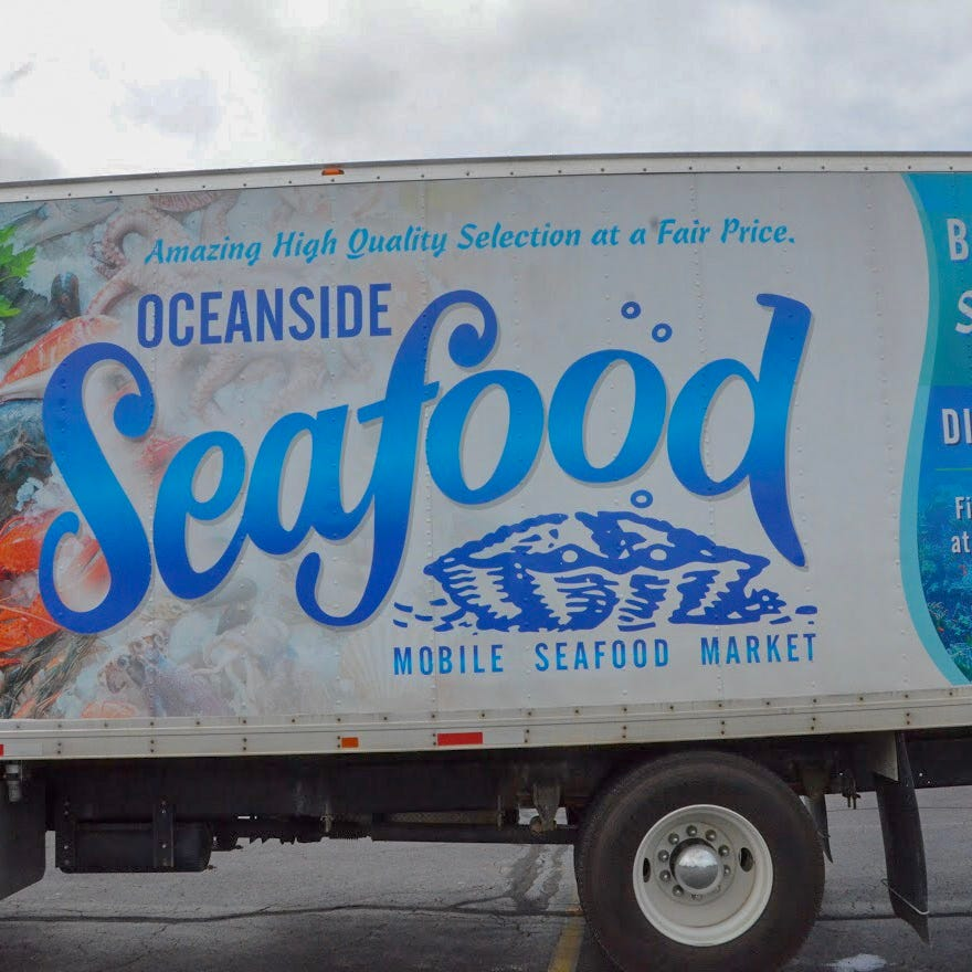 How Howell's Oceanside Seafood built a business selling fish from the back of a truck
