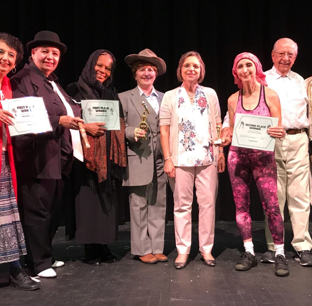 BUZZ ABOUT YOU: Local seniors strut their stuff for second annual Lip Sync Challenge
