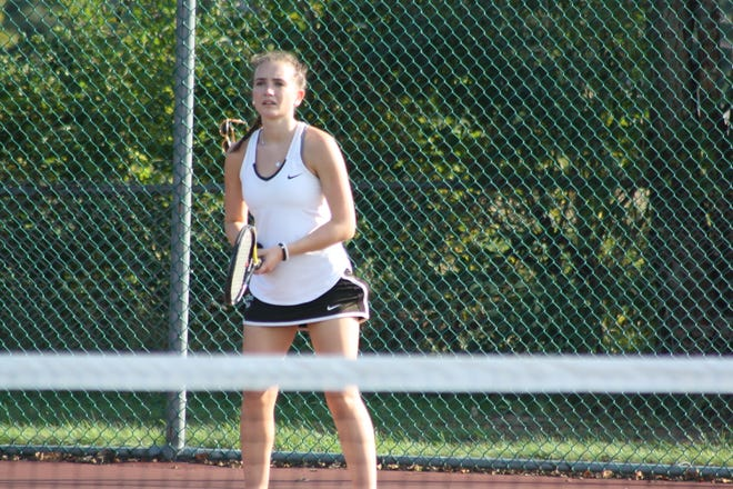 Seton Catholic High School junior Julianna Miller, 16, has been playing tennis since she was four years old.