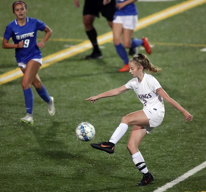 North Kitsap senior Mia St. Peter feared she might miss this soccer season after have two surgeries on her ankle in the offseason. But she's back and hopes to lead the Vikings on a deep run in this fall's playoffs.