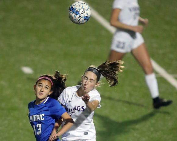 North Kitsap and Olympic shared the Olympic League 2A girls soccer title this fall.