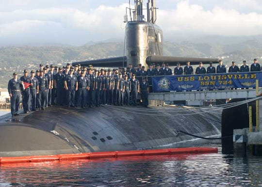 Rob Mulligan of Rockledge, a Navy veteran, was a crew member of the USS Louisville, a Los Angeles-class attack submarine.