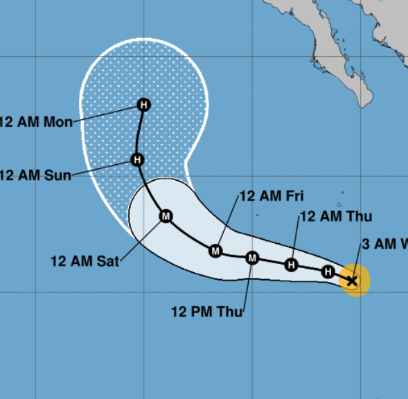 Tropical Storm Rosa expected to become a major hurricane