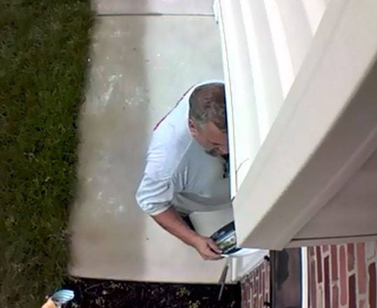Mount Laurel police say this man is being sought for going through a homeowner's mailbox in Mount Laurel recently.