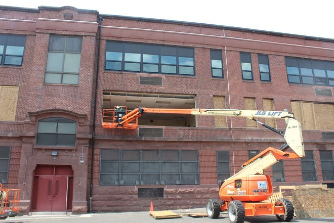 The state Schools Development Authority announced a $3.8 million replacement of windows at Cramer Elementary School in Camden is nearly complete.