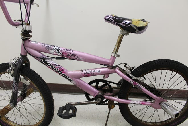 Evesham Police say this bicycle was stolen by a man who then collided with a vehicle near routes 70 and 73.